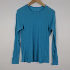 Patagonia Blue Lightweight Capilene 2 Top